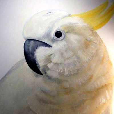 rheinblick-malerei-schroede-oel-kakadu-weiss